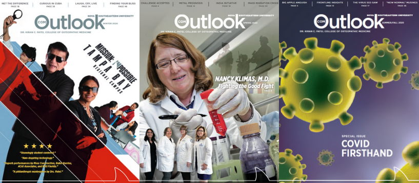 cover photos of COM Outlook Magaine