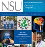 College of Osteopathic Medicine Graduate Programs Brochure